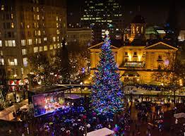 Portland Christmas Holiday Tree Lighting Sing A Long Hot