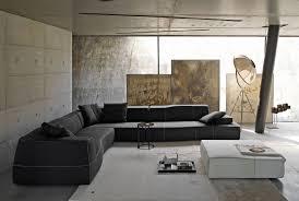 b b italia canapé canapé modulable contemporain en cuir en tissu bend sofa