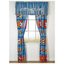 cotton blend sports curtains drapes valances ebay
