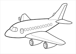 21 Airplane Coloring Pages