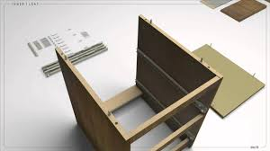 Ikea Kullen Dresser 5 Drawer by Ikea Malm Instructions Using 3d Animation Youtube