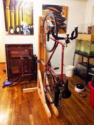 Pallet Storage Furniture With Vertical Bike Rack