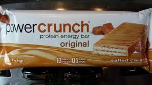 Salted Caramel Power Crunch Bar