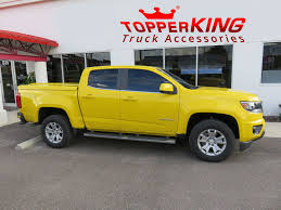 100 Truck Accessories Colorado Springs Bright Yellow Chevy Leer 700 Tonneau TopperKING