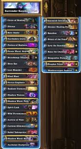 Hunter Decks Hearthstone 2017 by Hearthstone Hct 2017 Summer Championship Decks Results And