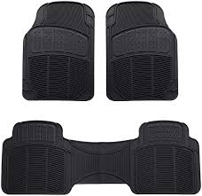 100 Truck Floor Mat Amazoncom AmazonBasics 3 Piece Car Black Automotive