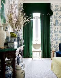 Green Velvet Curtains Within Beautiful Emerald And Best 25 Drapes Ideas Remodel 17