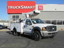 100 Boom Truck 2006 FORD F550 SUPER DUTY BUCKET BOOM TRUCK FOR SALE 11236
