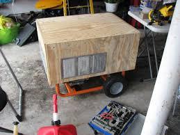 make a rain proof portable generator housing portable generator