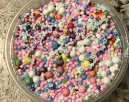 Unicorn Cereal Slime 8oz