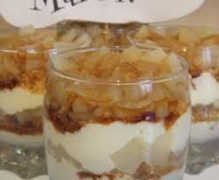 dessert au mascarpone marmiton verrine mascarpone poire caramel recette de verrine mascarpone
