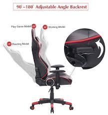 Video Rocker Gaming Chair Amazon by Amazon Com Top Gamer Ergonomic Gaming Chair Pc Racing Game Chairs