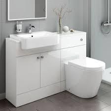 Good Small Bath Vanity A White Bathroom With Narrow Washbasin
