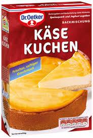 käse kuchen klassische kuchenmischungen dr oetker
