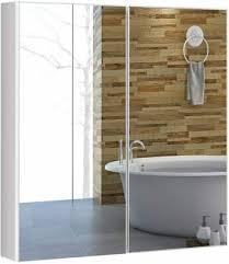 spiegelschrank bad wandschrank mit spiegel hängeschrank holz