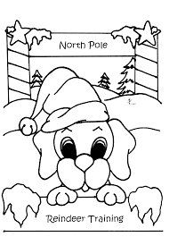 Kids Coloring Pages Free Printable Dog For