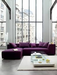 canapé couleur 80 idées d intérieur pour associer la couleur prune