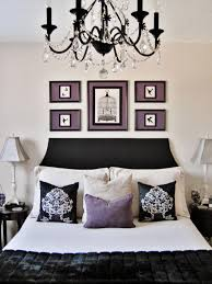 White And Black Bedding by Purple Black And White Bedroom Decorating Ideas Thesouvlakihouse Com