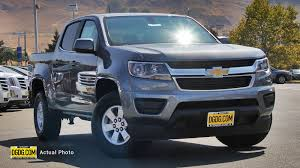 New 2019 Chevrolet Colorado 2WD Work Truck Crew Cab Pickup In ...