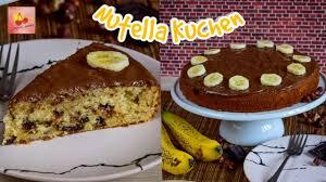 bananen nutella kuchen saftiger nutellakuchen kinderleichtes rezept