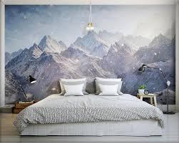 beibehang 3d tapete majestic kunlun berge hd foto tapete abgedeckt wandbild schriftrollen für wohnzimmer schlafzimmer tapete