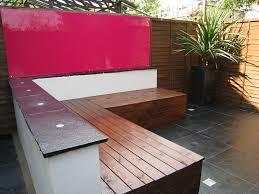 contemporary outdoor storage bench organized yard pinterest