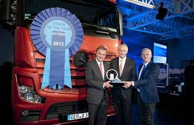100 2012 Truck Of The Year ALL NEW MERCEDESBENZ ACTROS WINS INTERNATIONAL TRUCK OF THE