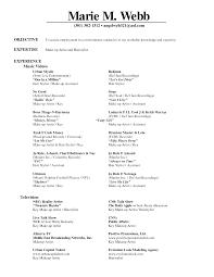 sle resume cover letter hair stylist resume of artist resume for your application