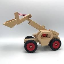100 Fagus Trucks Kids Wooden Telescopic Loader On Garmentory