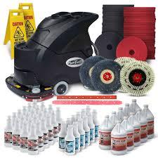 Clarke Floor Scrubber Batteries by Cleanfreak 24 Inch Industrial Floor Scrubbing U0026 Stripping Package