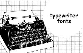 25 Best Typewriter Fonts