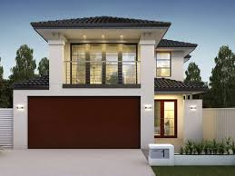 100 Narrow Lot Home Double Storey Designs For Wide Blocks Design Ideas