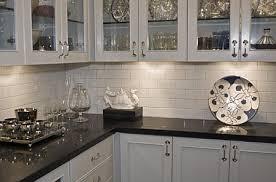 white cabinet black counter marble backsplash search