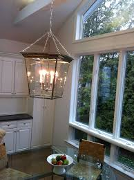 the kitchen pendant lantern oversized chrome beautiful