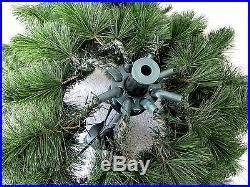 Vtg Mountain King Green Bottlebrush Christmas Tree 6 5