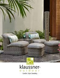 Outdoor Catalog 2019 By Klaussner Home Furnishings - Issuu Klaussner Intertional Ding Room Reflections 455 Regency Lane 5 Piece Set Includes Table And 4 Outdoor Catalog 2019 By Home Furnishings Issuu Delray 24piece Hudsons Melbourne Seven With W8502srdc In Hackettstown Nj Carolina Prerves Relaxed Vintage 9 Pc Leather Quality Patio Sycamore Chair Lastfrom Fniture Exciting Designs Unique Perspective Soda Fine Mediterrian Reviews For Excellent