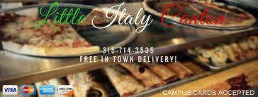 Little Italy Canton Home Canton New York Menu Prices