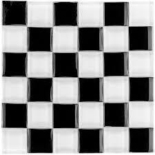 muster glasmosaik fliesen 3d effekt schwarz uni für