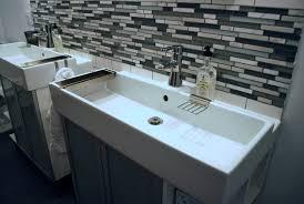 Long Narrow Bathroom Ideas by Long Bathroom Sink Home Design Styles