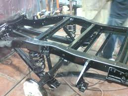 Painted Frame My 72 Chevy C10 Restoration Chevrolet Gmc Pickup C-10 ...
