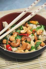 cuisine thailandaise recettes poulet aux noix de cajou recette thaï cuisine asiatique