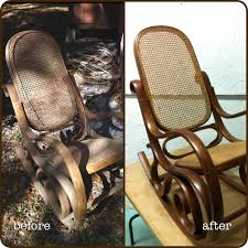 Vintage Bentwood Cane Rocker - Rocking Chair I Refinished ... Grandpas Rocking Chair Brightened Up For New Baby Nursery Future Restoration Pictures Rahns Fniture Sold Arts And Crafts Childs Refinished The Frosted Gardner West Custom Cartoon Of Chairs The Adventures Mrs Comfortable Rocking Chairs Stock Image Image Of 1970s Vintage Thonet Feigleys Repair Refishing Shop Home Facebook How To Refinish A With Stain Stencils Wingback Spring Chair Refinished New Cushions Made Upholstered Redo Prodigal Pieces Heirloom Hour 1 Moms Wooden In