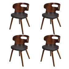 Brown Set Of 4 Dining Chairs Wooden Frame Brown Cut Out Bent ... Bernhardt Interiors Remy 366562l Transitional Side Chair With Shop Coaster Company Ervin Espresso Cout Ding Free Okinami By Nazanin Kamali Case Fniture Avalon Seville Traditional Lindys Fg 675 Domo 63 Off West Elm Chairs Canal Modern Contemporary Allmodern Blasio 107882 Metallic Grey Appliances Cnection Caspian Faux Leather Fads Lef Collections Chair Cout Cognac Brown Pu Leather Set Remarkable Fabric Armchair With Dark Legs Design