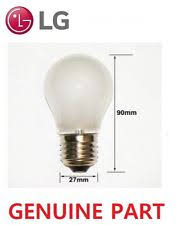 genuine lg fridge freezer l light bulb 40w es27 frosted white