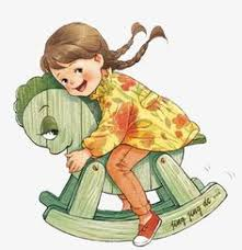 Clipartgirl Clipartriding Cliparttoy Cliparthorse Clipartlittle Clipart