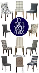 My Favorite Parsons Chairs | *INSPIRING DIY, Decor, & More ... Fniture Cheap Parsons Chairs For Match Your Ding Table Astonishing High Seat Room Covers Clearance William Upholstered Chair Kewaunee Provincial Slipcovers Faux Homepop In Blue Reviews Wayfair Armless Side Buy Ding Room Chair Covers From Green Warm Louis Xvi Style French Antique Macys Eamoxyz Evans Kitchen Design Everly Quinn Hunstant Bar Cart Randall Meg Pedestal Table