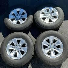 100 Oem Chevy Truck Wheels 2019 Silverado Factory 17 Tires Rims OEM Suburban Tahoe