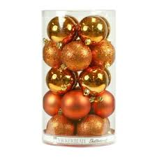 Orange Christmas Ornaments Youll Love