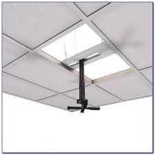 diy projector mount drop ceiling ceiling home decorating ideas