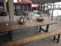 These Gorgeous New Rustic Farm Tables Will Be Available For Summer Of 2015 The To Table Event Your Dreams Is Just A Phone Call Away